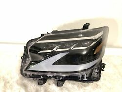 2020 2021 Lexus Gx460 Headlight Left Lh Driver Full Led Oem Triple Beam Headlamp
