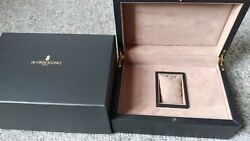 Genuine Degrisogono Watch Box - Complete Set With Instruction And Guarantee Book
