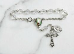 Guardian Angel Auto Rosary Car Rear-view Mirror One Decade Rosary New