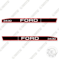 Ford 3430 Decal Kit Tractor - 7 Year 3m Vinyl