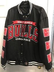 Nba Finals Chicago Bulls Championship Jacket New With Tag Size 3xl