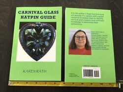 Carnival Glass Hatpin Guide Book. New, Full Colour, Paperback, Field Guide Size.