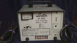 Lester 24v Wheelchair Dual Mode Automatic Battery Charger Type 24el8 12610