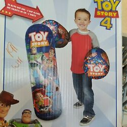 Hedstrom Toy Story 4, 36 Bop Bag And Gloves Combo Exercise Play Fun Ships Fast A2