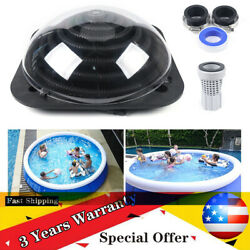 Outdoor Solar Dome Inground Black And Above Ground Swimming Pool Water Heater Sale