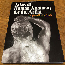 Galaxy Bks. Atlas Of Human Anatomy For The Artist By Stephen Rogers Peck 1982