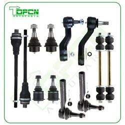 Ball Joint Tierod Idler Arm Swaybar For Chevy Avalanche Suburban 1500 4wd