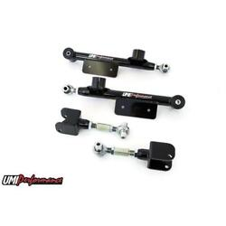 Umi 101417-b 99-04 Mustang Upper And Lower Adj. Control Arms Black