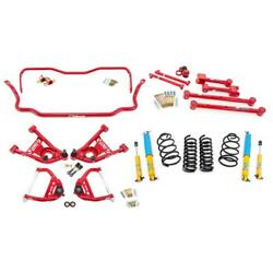 Umi Abf403-2-r 65-66 A-body Stage 2 Kit 2 Inch Lowering Red