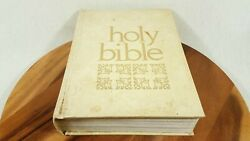 Large Text Holy Bible King James A.j. Holman White 1970 New And Old Testament