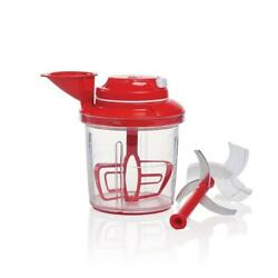 Tupperware Power Chef System Red New In Box