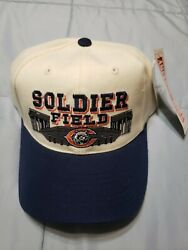 New Vintage American Needle Chicago Bears Soldier Field Hat Cap 80s 90s Navy