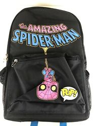 Funko Marvel Amazing Spiderman Blacklight Backpack Target Exclusive New W Tags $49.99