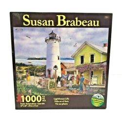 The Art Of Susan Brabeau Lighthouse Life 1000 Piece Puzzle 27 X 20 New Sealed