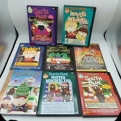 South Park Dvd Lot Of 8 Collection Set Timmy Insults To Injuries + More