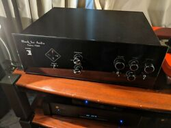 Black Ice Audio F360 Preamp With Sound Stage Expander- New By Dealer