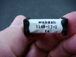 Lot Of 25 Wabash 5v Dpst-no Reed Relayand039s -- 1149-17-1 -- New And Unused