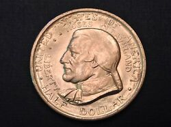 - 1936 Cleveland Great Lakes Commemorative Half Dollar Uncirculated Unc
