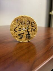Doge Coin Wooden Coin
