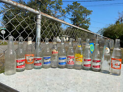 Vintage Root Beer Louisiana Hoard Wholesale Bottle Lot Collection Old Mix Neat