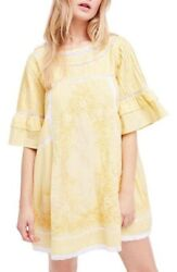 Free People Sunny Day Dress In Yellow