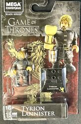 New💥mega Construx Game Of Thrones Black Series15pc Tyrion Lannister 1.5figure