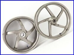 2001 Ducati 996s Genuine Marchesini Wheel Front And Rear Set 748 916 998 Ppp