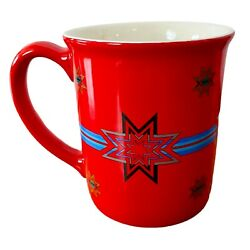 Pendleton Blanket Sioux Star Pattern Mug Cup Red Blue Christmas Large 2 Of 2
