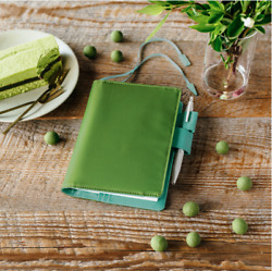 Hobonichi A6 Size fits Planner and Original Book Cover Matcha $39.99