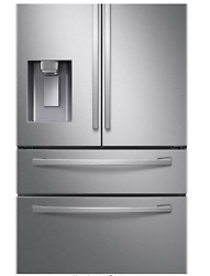 Samsung Rf24r7201sr Stainless Steel Counter Depth Refrigerator New In The Box