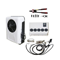 12 V Air Conditioner For Rv Boat Yacht Truck Mini Bus Car W/ Free Pull Riveter