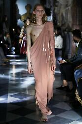 Runway Fluid One Shoulder Dress - With Tags- Rrp 5900 Aud