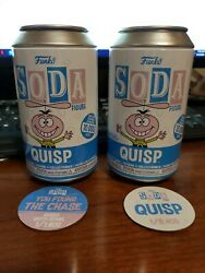 Funko Soda Quisp Chase And Common Funko With An Error Pog On Chase