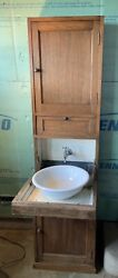Rare State Room 1st And 2nd Class Compactum Wash Stand Early 1900s Rms Hms Titanic