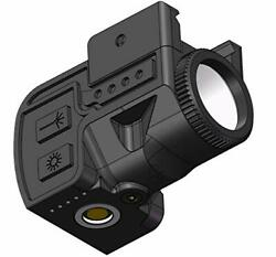 Laspur Sub Compact Picatinny Rail Mount Red Dot Laser Sight With Flashlight