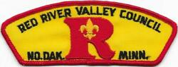 Red River Valley Council Strip T-1a Cloth Back Csp Sap Boy Scouts Of America Bsa