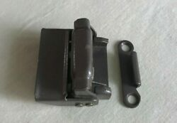 8 Truth Bronze Luggage Style Lock And Keeper - Nos - Double Hung Surface Mount