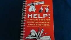 Notebook And Phonenumber Record Book With Illustrations Heath Robinson