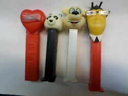 Set Of 4 Pez Valentineand039s Day No Feet Panda From Czech Republic 2 More