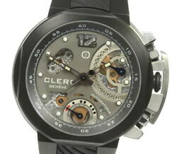 Clerc Odyssey Ody512 Gray Dial Automatic Menand039s Watch_611272