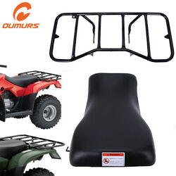 Seat And Rear Rack Rear Carrier For Honda Recon 250 Trx 250 Trx250 2005-2016 Atv