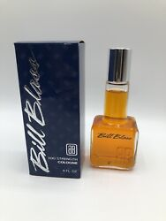 Vintage 1970's Bill Blass 100 Proof Cologne 4oz Rare For Men Discontinued