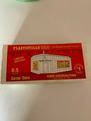 Plasticville Limited Edition Corner Store Hobby Shop No. 0100 O And S Gauge
