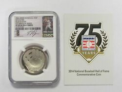 2014 S 50c Half Dollar Mlb Player Celebration Series Pf69 Ultra Cameo Mike Trout