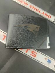 New England Patriots Wallet And License Plate Bracket Lot