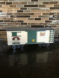 New Bright 1985 G Scale Plastic Greatland Holiday Express Train Freight Car