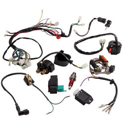 Stator Engine Assembly Electric Wiring Harness Kit For Honda-style Engines Gy6