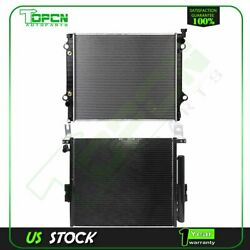 Fits 2005-2012 Toyota Tacoma Replacement Radiator And Condenser Assembly