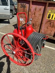 Ansul Red Line Wheeled Commercial Fire Extinguisher