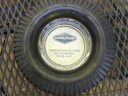 Vintage Goodyear Tire Advertising Rubber Ashtray 1950's California Mint